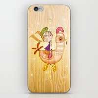 carousel iPhone & iPod Skins featuring Carousel by José Luis Guerrero