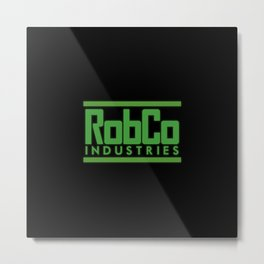 Robco Industries Metal Print