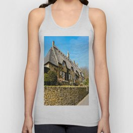 Cotswold Cottages  Unisex Tank Top