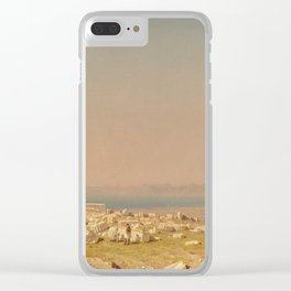 Sanford Robinson Gifford Ruins of the Parthenon 1880 Painting Clear iPhone Case