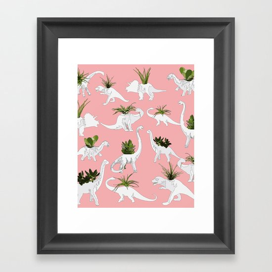 Dinosaurs & Succulents by millicentt