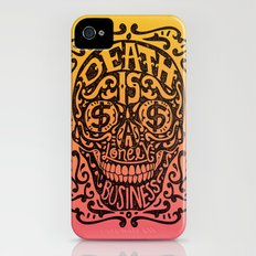 Death is a Lonely Business iPhone (4, 4s) Slim Case