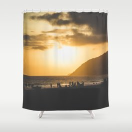 Ipanema Sunset Shower Curtain
