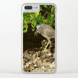 Love Crabs For Lunch Clear iPhone Case