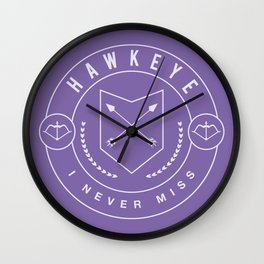 I Never Miss  Wall Clock