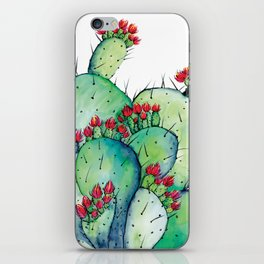 Blossoming Cacts iPhone Skin