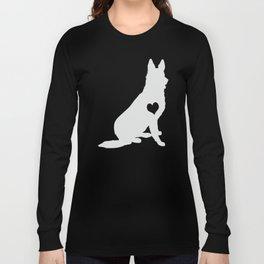 Adore German Shepherds Long Sleeve T-shirt