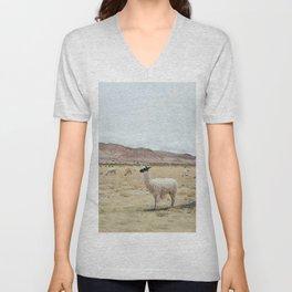 Alpaca Unisex V-Neck