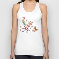letters Tank Tops featuring Love Letters by KattyB