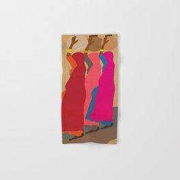 Three women carrying water 1 Hand & Bath Towel
