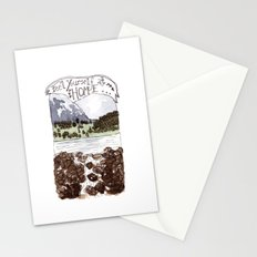 Feel Yourself At Home Stationery Cards