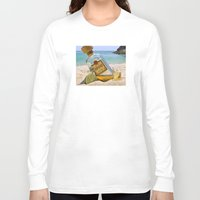 tequila Long Sleeve T-shirts featuring Tequila! by Brocoli ArtPrint