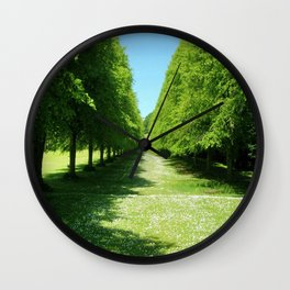Red Twig Limes Wall Clock