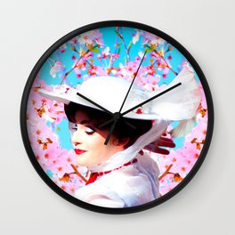 MARY POPPINS - CHERRY TREE Wall Clock