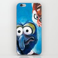 "muppet iPhone & iPod Skins featuring Gonzo and Camilla Muppet Painting ""Still a Better Love Story"" by Kristin Frenzel"