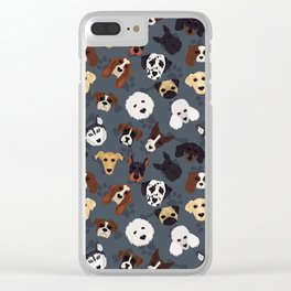 Canine Collective Clear iPhone Case