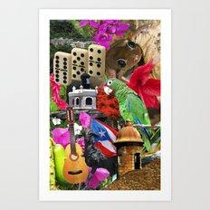 Puerto Rico - Isla del Encanto Art Print