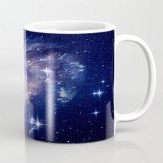 Galaxy deep in space. Mug