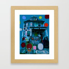 Detroit Heidelberg Project Framed Art Print