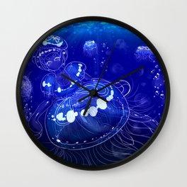 Moon Jelly Maiden Wall Clock