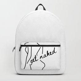 Get Naked Enjoy Life Backpack