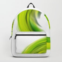 Soft Green Enso - Abstract Art By Sharon Cummings Backpack