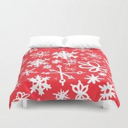 Snowflakes Duvet Cover