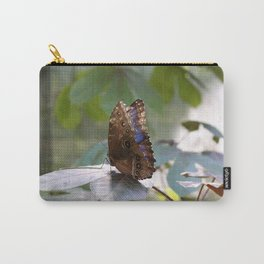 Butterfly Blue Carry-All Pouch