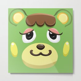 Animal Crossing Charlise Metal Print