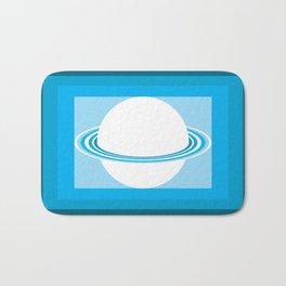 Vinigo Blue Bath Mat