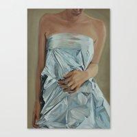 bride Canvas Prints featuring Bride by Sarah Benko