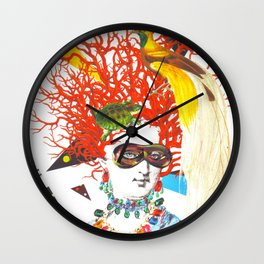 The Eccentric Duchess Wall Clock