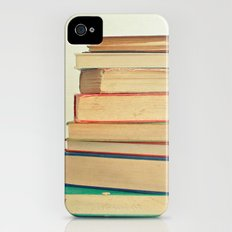 Stack of Books iPhone (4, 4s) Slim Case