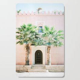 """Travel photography print """"Magical Marrakech"""" photo art made in Morocco. Pastel colored. Cutting Board"""