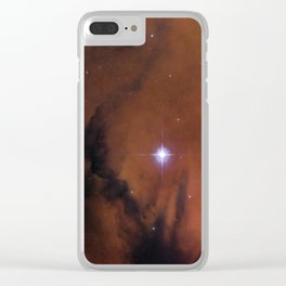 Star Cluster IC 1590 Clear iPhone Case