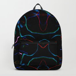 Bright lights in black Backpack