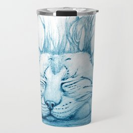 Bobcat nap Travel Mug