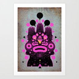pinkor Art Print