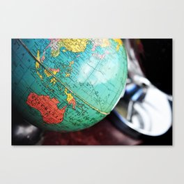 See the whole world! Canvas Print