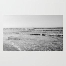 Surfing Monochrome Rug