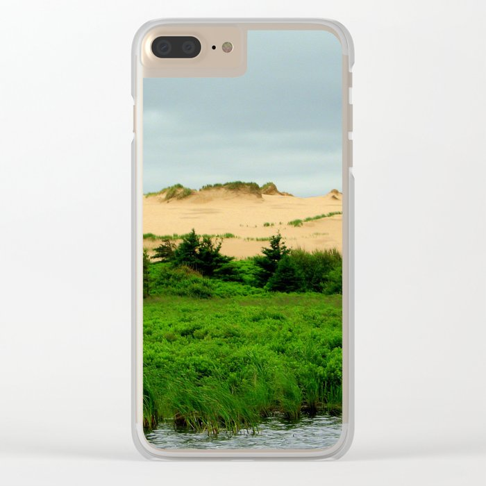 Landscape | Sand Dunes | Canada Clear iPhone Case
