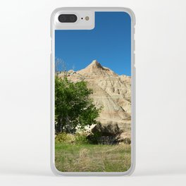 Rugged Landscape Tree Clear iPhone Case