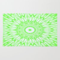 lime green Area & Throw Rugs featuring Lime by SimplyChic
