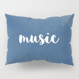 BLUE MUSIC Pillow Sham