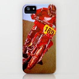 Motocross iPhone Case