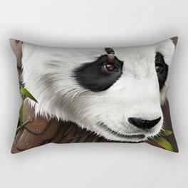 Wild2 - The Panda Rectangular Pillow