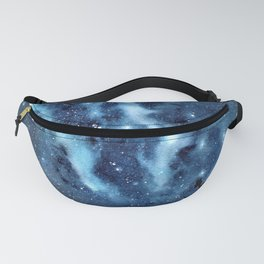 """""""Nature's Beauty"""" galaxy watercolor painting Fanny Pack"""