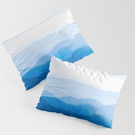 Smoky Mountain National Park Sunset Layers IV - Nature Photography Pillow Sham