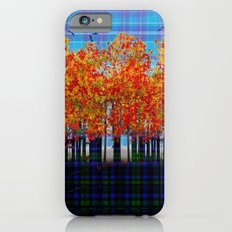 Fall Leaves On Plaid Slim Case iPhone 6s