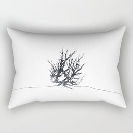 Ampersand Thorn Bush by Cheyenne Austin Rectangular Pillow